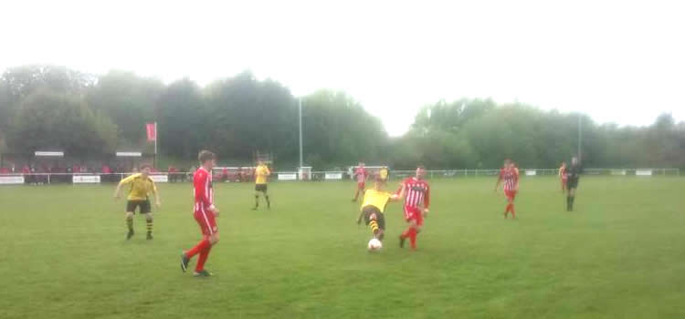 Buckley Town Versus Llanuwchllyn Match Photo