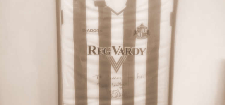Danny Collins Signed Sunderland Shirt